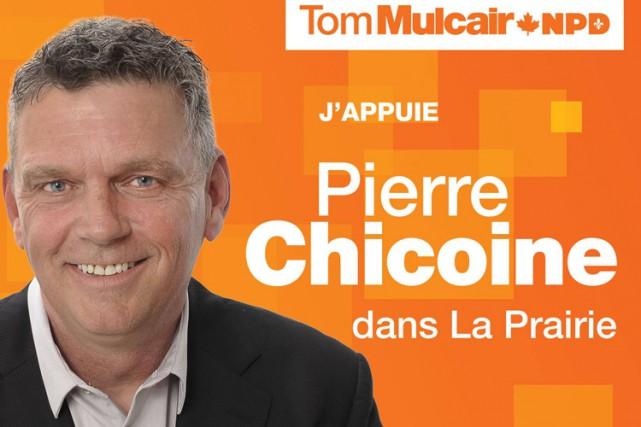 Lorsqu'il a fait le saut en politique, cet été, Pierre Chicoine savait qu'il... (IMAGE TIRÉE DE FACEBOOK)
