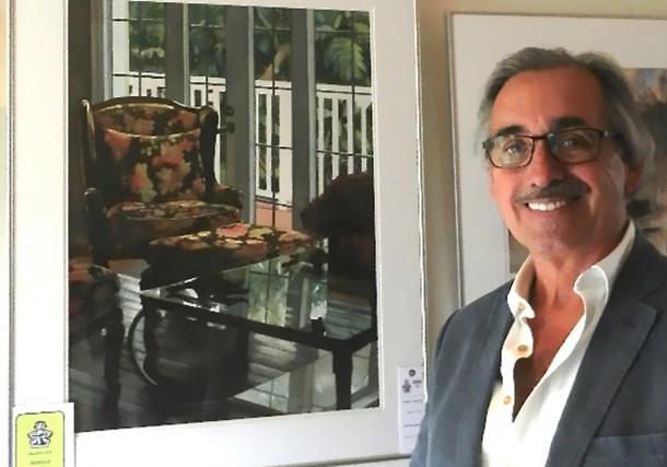 L'artiste-peintre du secteur Buckingham, Yvon Perrier, a remporté une mention... (Courtoisie)