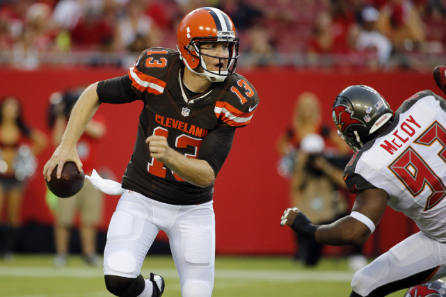 Josh McCown... (Photo Scott Audette, AP)