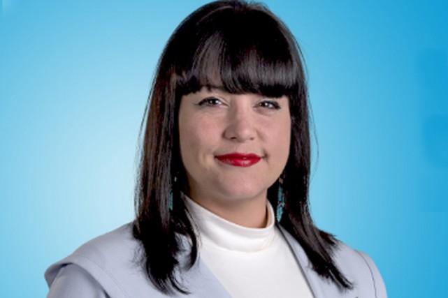 La candidate bloquiste de Manicouagan, Marilène Gill... (Bloc québécois)