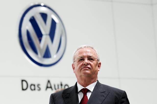 Martin Winterkorn étaità la tête de Volkswagen depuis... (Photo Wolfgang Rattay, archives Reuters)