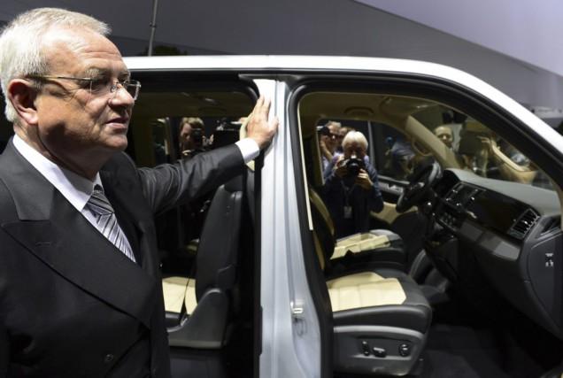 MartinWinterkorn a affirmé dans un communiqué que Volkswagen... (Archives AFP)