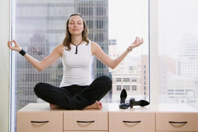 La méditation fait son chemin jusque dans les lieux de travail. Google a donné... (PHOTO MASTERFILE)