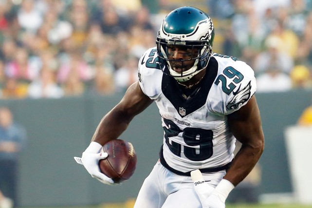 DeMarco Murray a été limité à 11 verges de... (Photo Mike Roemer, archives AP)