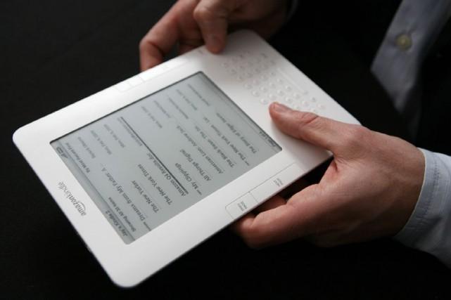 De janvier à mai, les ventes d'ebooks pour... (PHOTO ARCHIVES Associated Press)