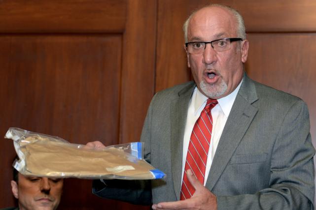 L'avocat de la femme qui prétend avoir été... (Photo Gary Wiepert, AP)