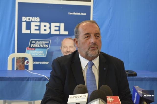 Denis Lebel mise sur ses réalisations et sa... ((Photo Le Quotidien Louis Potvin))