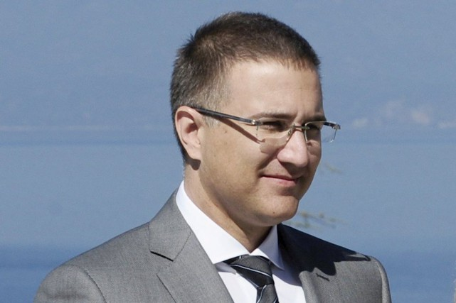 Le ministre serbe de l'Intérieur, Nebojsa Stefanovic... (Photo archives Reuters)