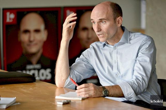 Le candidat libéral de Québec, Jean-Yves Duclos... (Patrice Laroche, Le Soleil)