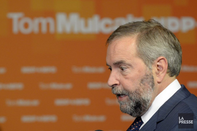 Dans un discours à Montréal, mercredi après-midi, Thomas... (Archives La Presse)