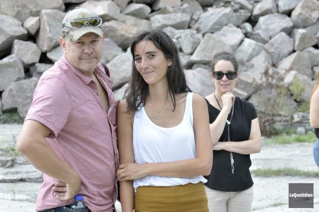 Le réalisateur Alain Desrochers a offert son aide... ((Photo Le Quotidien-Rocket Lavoie))