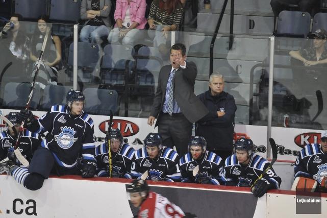 L'entraîneur-chef des Sags, Yanick Jean, pense que certains... ((Photo Le Quotidien-Rocket Lavoie))