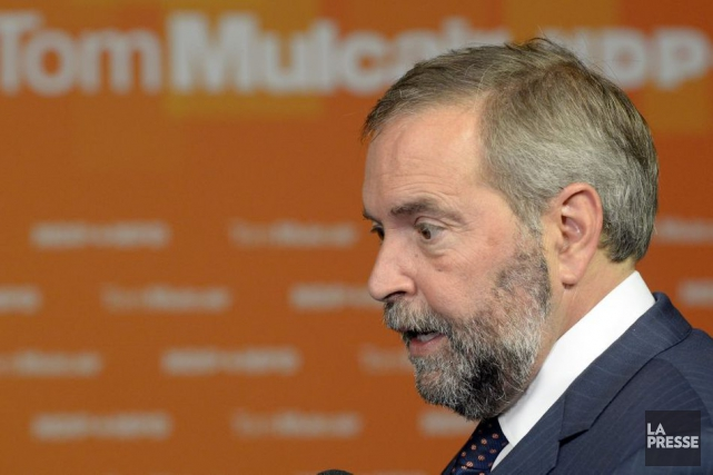 Thomas Mulcair... (Archives La Presse)
