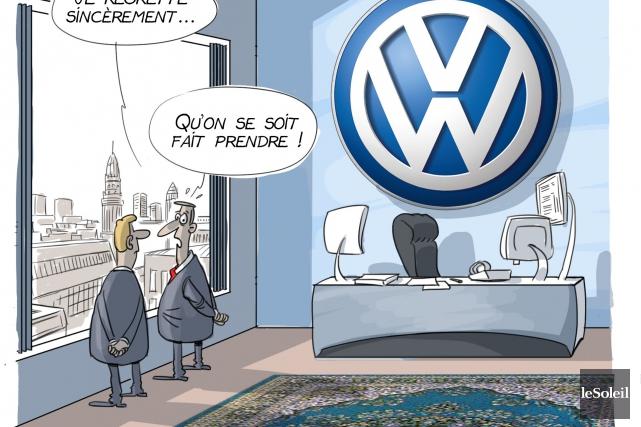 Caricature du 24 septembre... (Le Soleil, André-Philippe Côté)