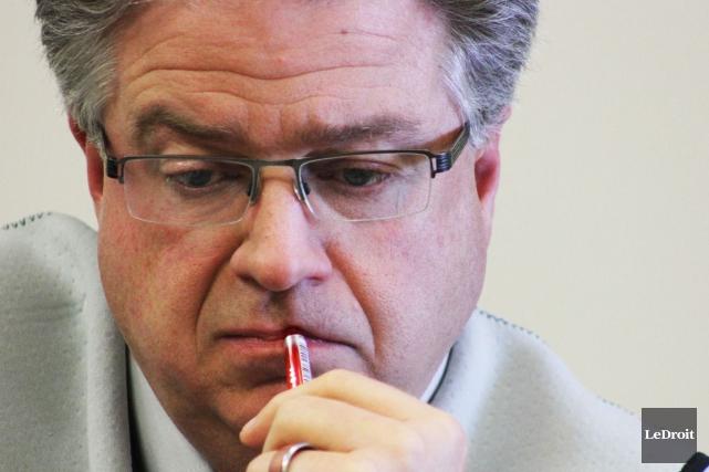 Le directeur général d'Ottawa, Kent Kirkpatrick... (Etienne Ranger, Archives LeDroit)