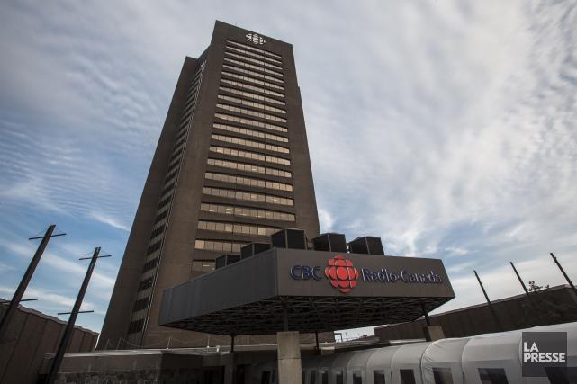 La tour de Radio-Canada à Montréal... (Olivier Pontbriand, Archives La Presse)