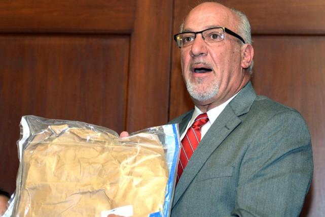 L'avocat de la présumée victime, Thomas J. Eoannou,... (AP, Gary Wiepert)