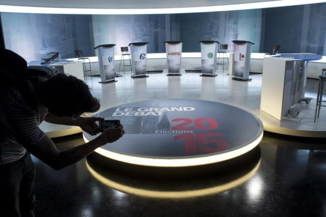 Le premier débat électoral en français aura lieu... (La Presse Canadienne)