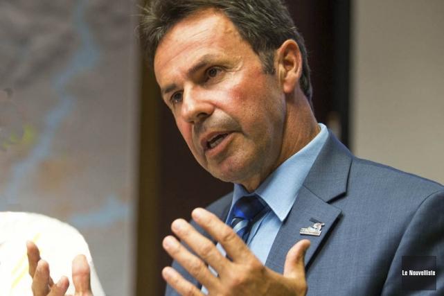 Le maire de Shawinigan Michel Angers ne cachait... (Photo: Olivier Croteau, Le Nouvelliste)