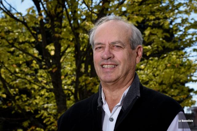 Martial Toupin est candidat pour le Parti vert... (Photo: François Gervais, Le Nouvelliste)