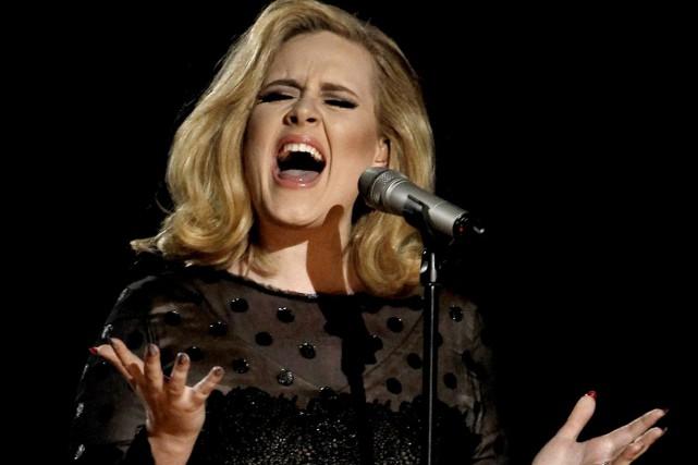 Le relationniste de presse d'Adele a refusé de... (Archives, Associated Press)