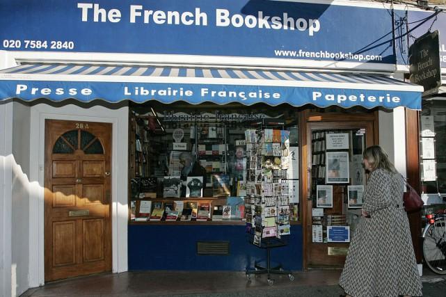 Une librairie francophone sur la rue Bute dans... (PHOTO ARCHIVES AFP)