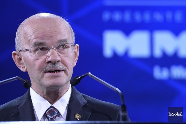 Le président de la Fédération québécoise des municipalités... (Photothèque Le Soleil)