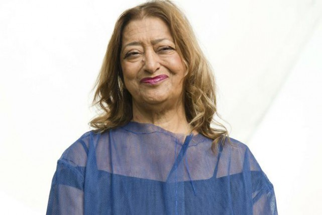 Zaha Hadid... (PHOTO ARCHIVES AFP)