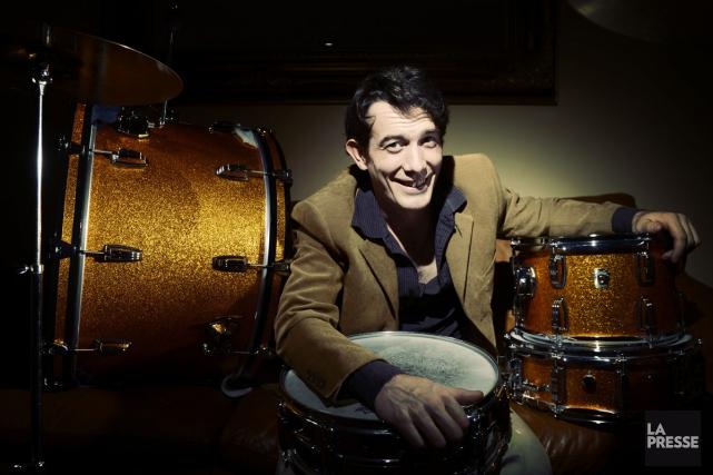 Hugo St-Cyr photographié chez lui en 2013.... (Photothèque La Presse)