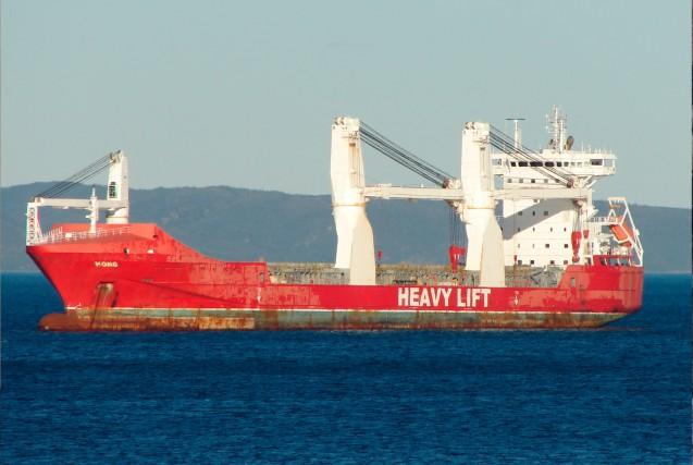 Le Hong, un navire marchand, n'a pas vu... (Collaboration spéciale Steeve Paradis)