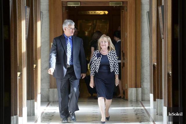 La ministre Madeleine Meilleur a pu en discuter... (Erick Labbé, Archives Le Soleil)