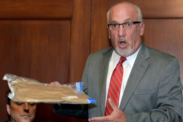 Thomas Eoannou a expliqué qu'il n'est plus à... (Photo Gary Wiepert, AP)