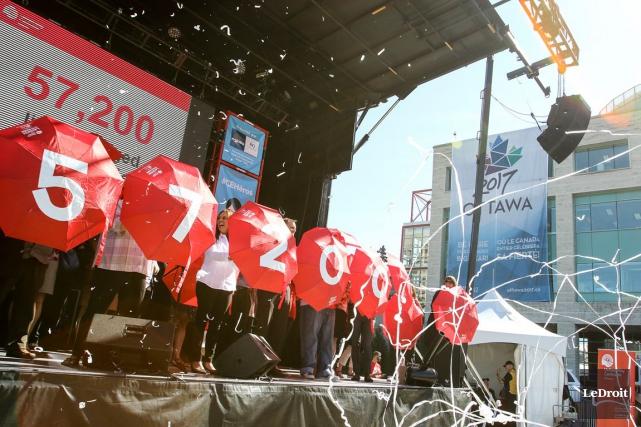 Centraide Ottawa espère attendre le cap des 16... (Patrick Woodbury, LeDroit)