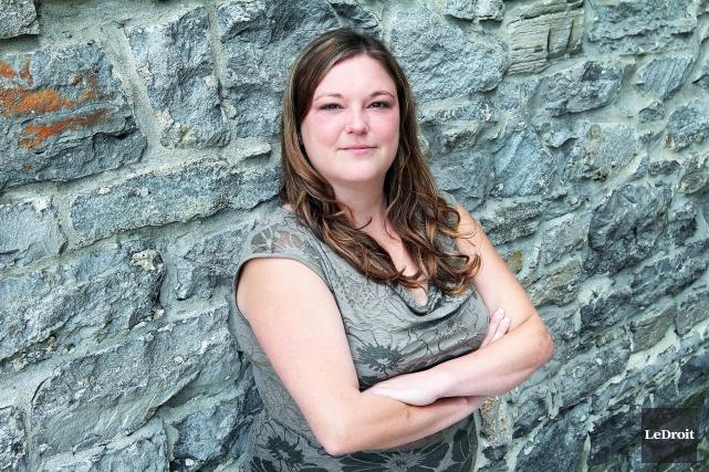 Tina Desabrais se dit satisfaite du travail accompli... (Etienne Ranger, Archives LeDroit)
