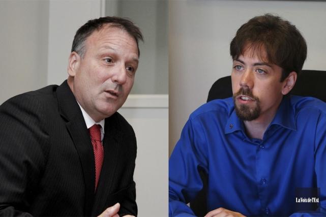 Pierre Breton, candidat pour le Parti libéral du... (photo archives La Voix de l'Est)