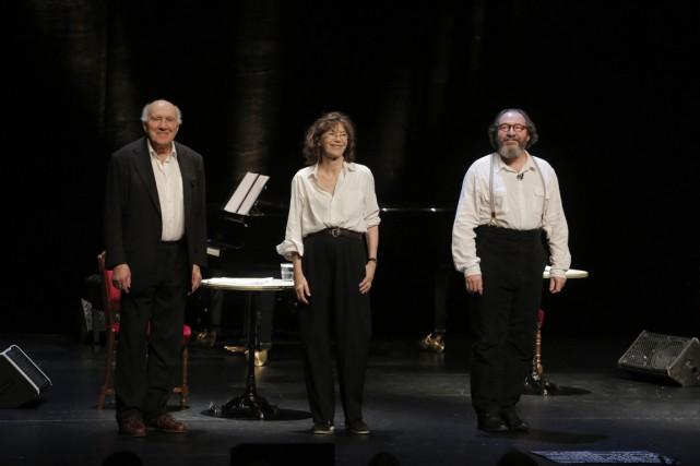 Gainsbourg, poète majeur, avec Jane Birkin, Michel Piccoli,... (Photo Pascal Victor/ArtComArt)