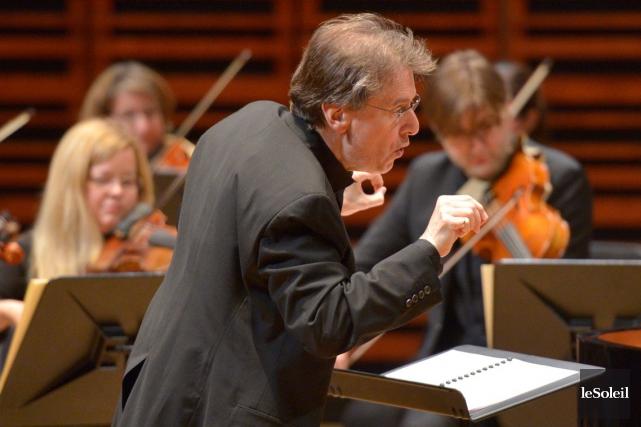 Le pianiste-solisteRobert D. Levin a aussi assuré la... (Le Soleil, Yan Doublet)
