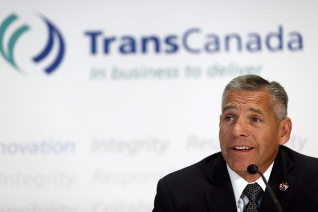 Le pdg de TransCanada, Russ Girling... (Jeff McIntosh, Archives La Presse Canadienne)