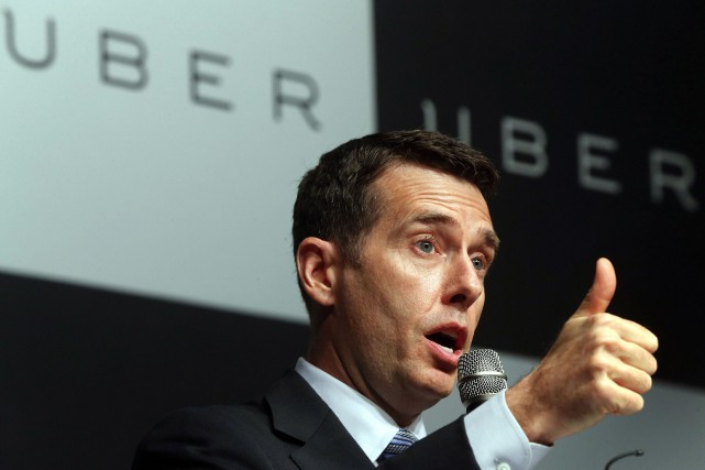 David Plouffe, conseiller principal d'Uber inc. M. Plouffe... (Photo Lee Ji-eun, Reuters)