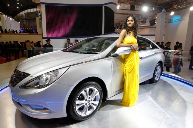 La Hyundai Sonata... (Photo Saurabh Das, AP)