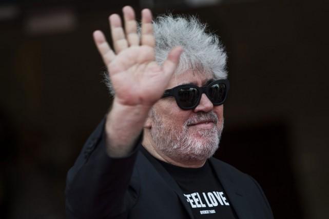 Le réalisateur espagnol Pedro Almodòvar à son arrivée... (PHOTO AP)