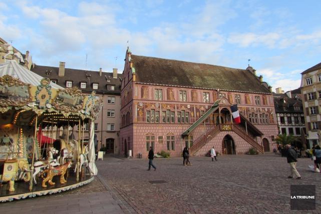 Mulhouse! C'est le nom de la ville mystère qu'il y avait dans l'enveloppe qui... (La Tribune, Jonathan Custeau)