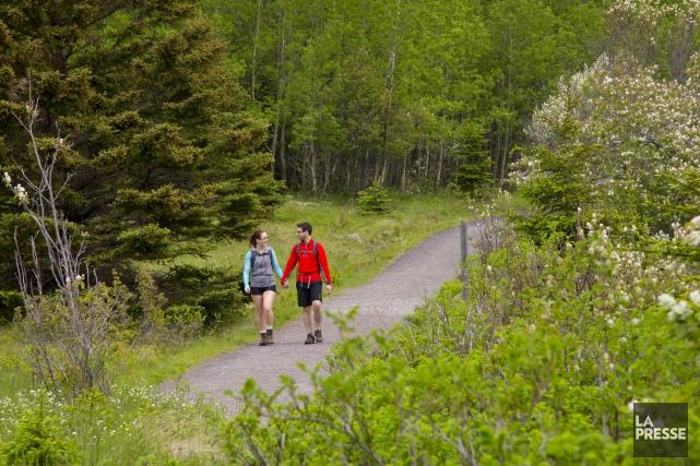 La cohabitation entre la chasse et la randonnée pédestre, deux activités... (Archives La Presse)