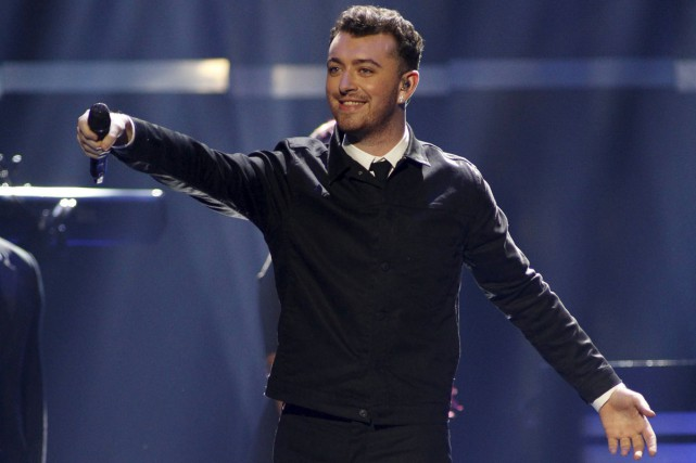 Sam Smith en spectacle au iHeartRadio Music Festival... (PHOTO ARCHIVES REUTERS)