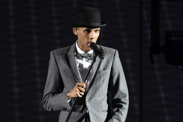 Le chanteur Stromae va conclure sa tournée internationale en retournant en... (PHOTO ARCHIVES AFP)