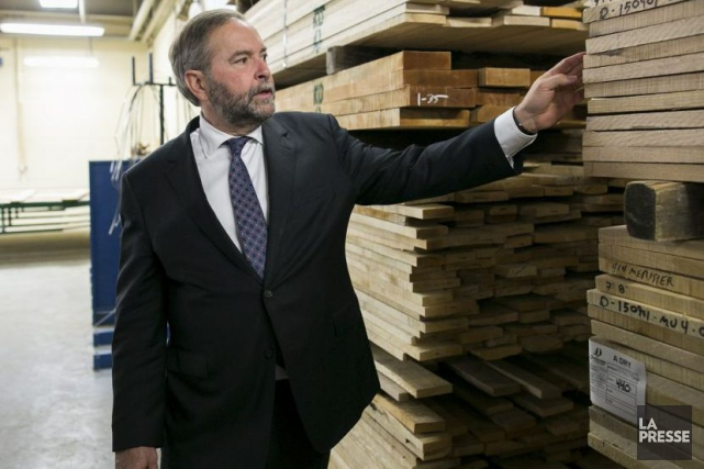 Thomas Mulcair... (PHOTO MARTIN TREMBLAY, LA PRESSE)