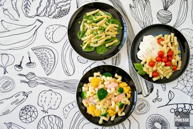 À bas les conserves de thon et les morceaux de céleri dans la salade de pâtes.... (PHOTO DAVID BOILY, LA PRESSE)