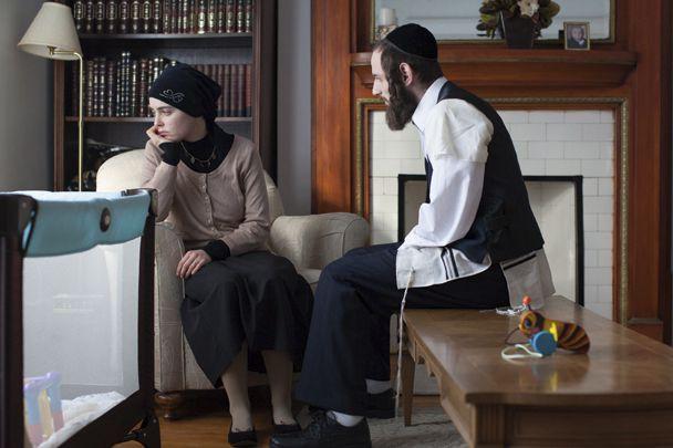 Hadas Yaron et Luzer Twersky, dans une scène... (Courtoisie)