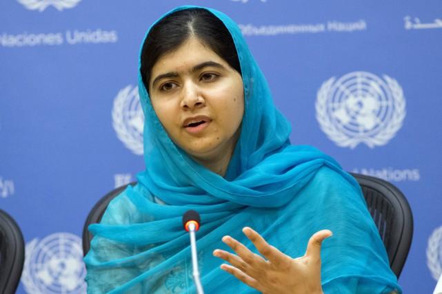 Malala se trouvait à New York pour assister... (PHOTO DARREN ORNITZ, REUTERS)