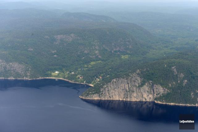 Le comité de reconnaissance du fjord a vu... (Photo Le Quotidien, Jeannot Lévesque)